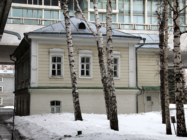 Lenins Geburtshaus in Uljanowsk